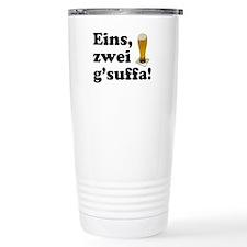 Drink Up Oktoberfest Travel Mug
