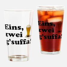 Drink Up Oktoberfest Drinking Glass