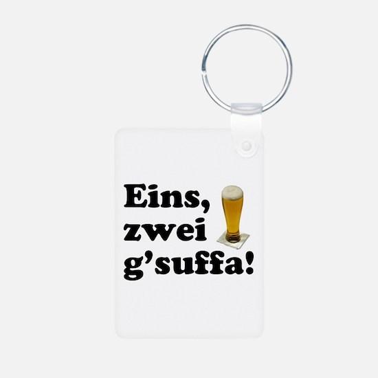 Drink Up Oktoberfest Keychains