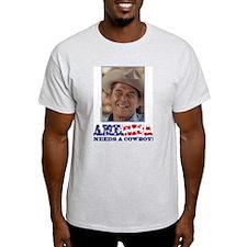 Ronald Reagan/Cowboy T-Shirt