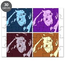Ronald Reagan Pop Art Puzzle