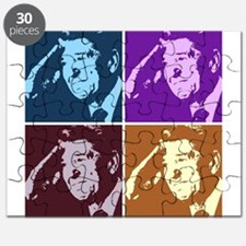 Ronald Reagan Pop Art Puzzle