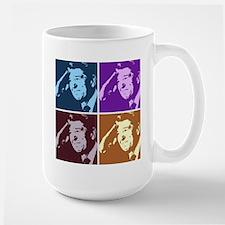 Ronald Reagan Pop Art Mug