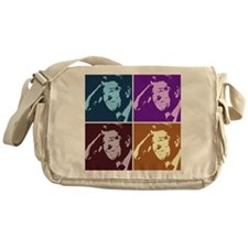 Ronald Reagan Pop Art Messenger Bag