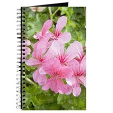 Pink Flowers with a Poem Journal