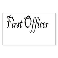 First Officer (Pirate) Decal