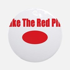 Take The Red Pill Ornament (Round)