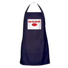 Take The Red Pill Apron (dark)