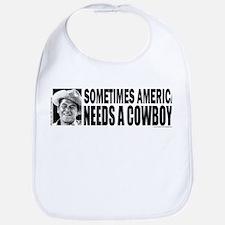 Ronald Reagan/Cowboy Bib