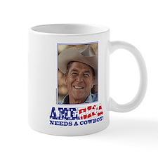 Ronald Reagan/Cowboy Small Small Mug