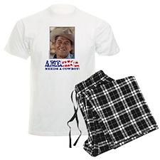 Ronald Reagan/Cowboy Pajamas