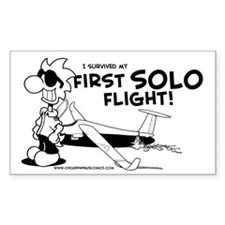 First Solo Flight (Glider) Decal