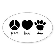 COOL DOG Rectangle Decal