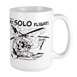First Solo Flight (Helicopter) Large Mug