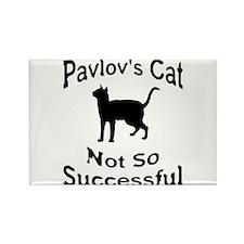Pavlov's Cat Not So Successfu Rectangle Magnet