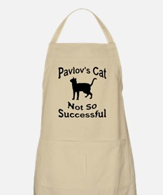 Pavlov's Cat Not So Successfu Apron