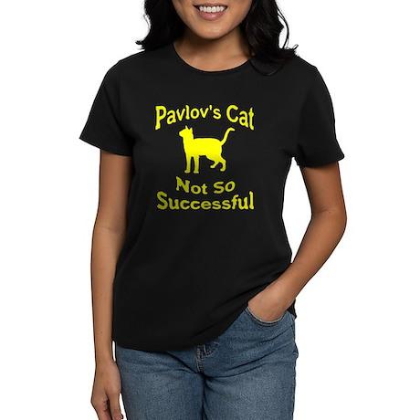 Pavlov's Cat Not So Successfu Women's Dark T-Shirt