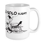 First Solo Flight (Plane) Large Mug