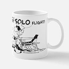 First Solo Flight (Plane) Mug