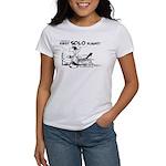 First Solo Flight (Plane) Women's T-Shirt