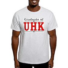 2-Sided Alumni - UHK Ash Grey T-Shirt