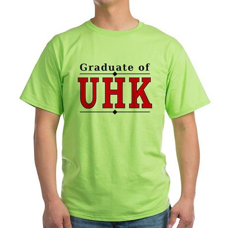 2-Sided Alumni - UHK Green T-Shirt