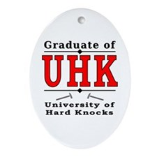 Alumni - UHK Oval Ornament