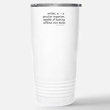Writers and Caffeine Stainless Steel Travel Mug