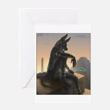 Best Seller Anubis Greeting Card