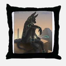 Best Seller Anubis Throw Pillow