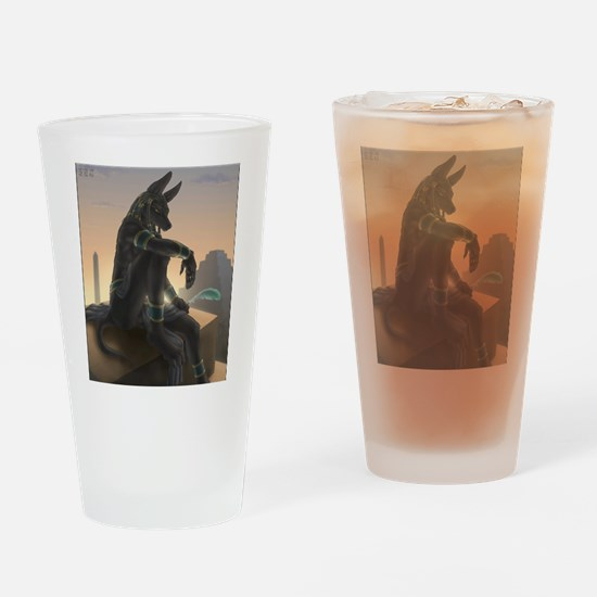 Best Seller Anubis Drinking Glass