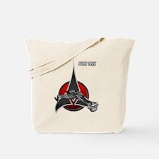 Klingon Empire ship 2 Tote Bag