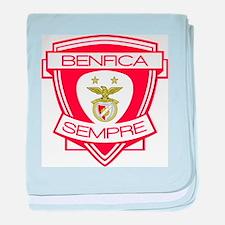 Benfica Sempre (Always) Football Team baby blanket