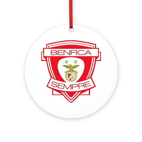 Benfica Sempre (Always) Football Team Ornament (Ro