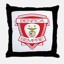 Benfica Sempre (Always) Football Team Throw Pillow