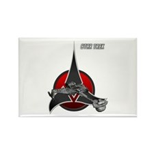 Klingon Empire ship 2 Rectangle Magnet