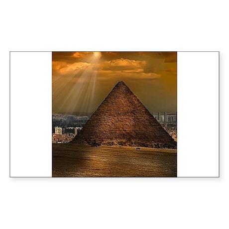 Giza Sticker (Rectangle)