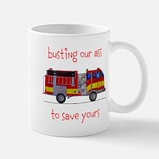 Busting Our Ass Mug