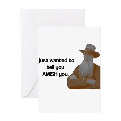 AMISH You Greeting Card