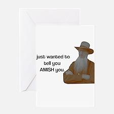 AMISH You Greeting Card
