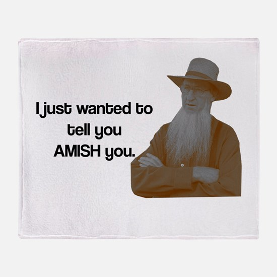 AMISH You Throw Blanket