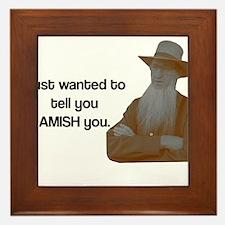 AMISH You Framed Tile