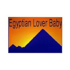 Egyptian Lover Rectangle Magnet