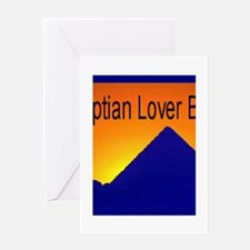Egyptian Lover Greeting Card