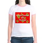 Kill the Commies Not the dogs Jr. Ringer T-Shirt