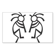 "West Highland Terrier Dog Square Sticker 3"" x 3"""