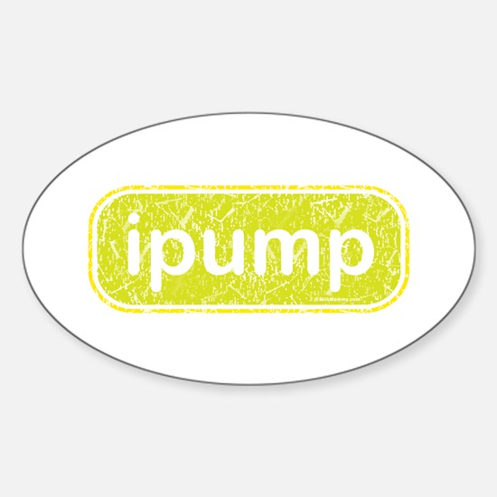 ipump Oval Decal