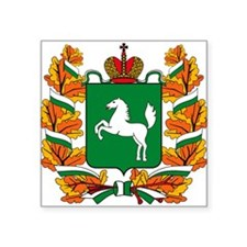 Tomsk Coat of Arms Rectangle Sticker