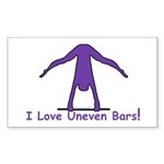 Gymnastics Stickers (50) - Bars
