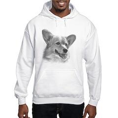 Welsh Corgi Hooded Sweatshirt